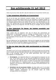 Presbericht - Een schitterende 21 juli 2013.pdf - Milquet.belgium.be