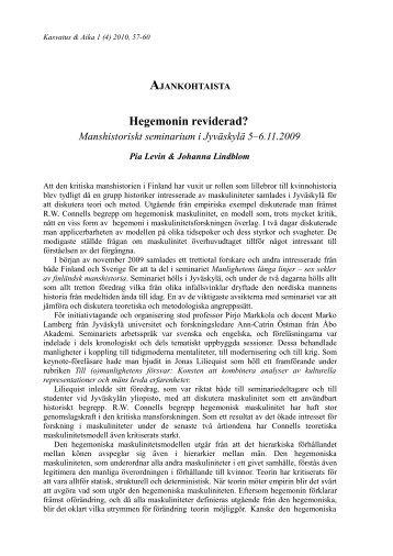 Ajankohtaista PDF-muodossa - Kasvatus & aika