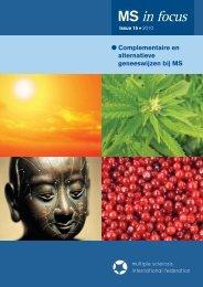 MS in Focus 15 Complementaire en alternatieve geneeswijzen bij