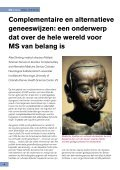 MS in Focus 15 Complementaire en alternatieve geneeswijzen bij - Page 4