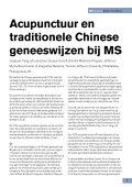 MS in Focus 15 Complementaire en alternatieve geneeswijzen bij - Page 7