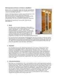 Sauna oder Infrarot - Bemberg