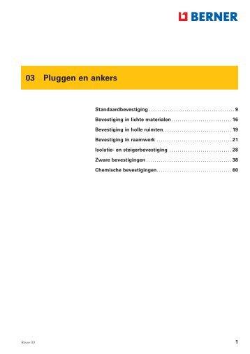 03 Pluggen en ankers - LEAN Classics