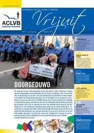 Vrijuit, editie februari 2013 - Aclvb