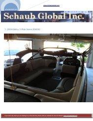 1. 2009 Malibu V-Ride Series $50000 - Schaub Global Inc.