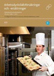 Arbetsolycksfallsförsäkringar och -ersättningar (56 sidor)