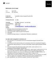 Stedenbouwkundige analyse en modellenstudie ... - Gemeente Zwolle