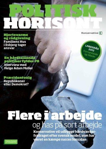 Politisk Horisont nr. 3 2012 - Konservative.dk