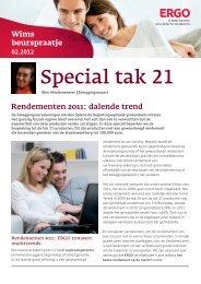 Special tak 21 - ERGO