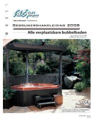 LTR20081001, Rev. B 4/1/08 - Cal Spas biedt hottubs als alternatief ...