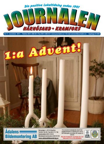 Ådalens Bildemontering AB - Journalen
