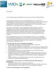 Brief Gemeente Midden-Delfland - VNO-NCW West
