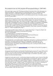 Procesbeskrivelse for PAF projektet IP ... - Danske Juletræer
