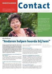"""""""Anderen helpen hoorde bij hem"""" - Nederlandse Transplantatie ..."""