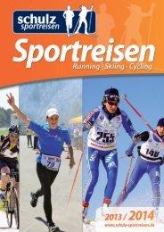 schulz sportreisen – Katalog 2013/14