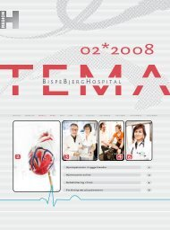 TEMA 2008 nr. 2 (pdf) - Bispebjerg Hospital
