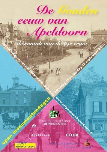 De Gouden eeuw van Apeldoorn - Stichting Apeldoornse ...