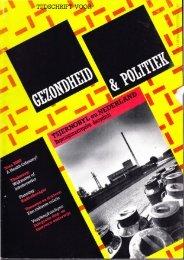 Tijdschrift Gezondheid en Politiek jaargang 1986 nr 3