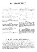 Bulletinen nr 2 2013 - Anonyma Alkoholister i Sverige - Page 2