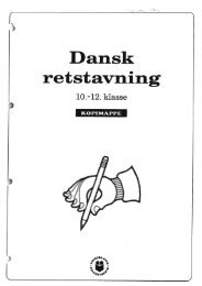 Dansk retstavning, diktater (1) - Inerisaavik