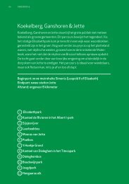 t groen: Koekelberg, Ganshoren & Jette - UiT in Brussel