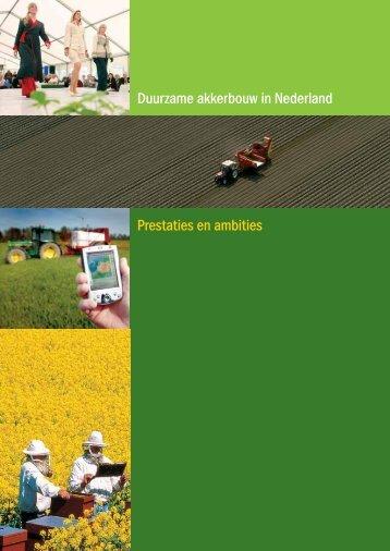 Duurzame akkerbouw in Nederland: prestaties en ... - Akkerbouw.info