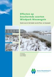 Bijlage 6 Effecten op beschermde soorten - Gemeente Nieuwegein