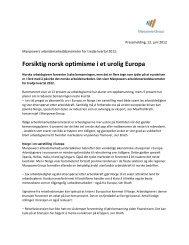 Forsiktig norsk optimisme i et urolig Europa - ManpowerGroup