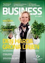 DERMANORD STÄLLER HÖGA KRAV - Business Region Göteborg