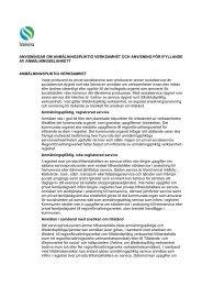 anvisningar om anmälningspliktig verksamhet och ... - Valvira.fi