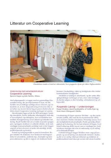 Litteratur om Cooperative Learning - Friskolebladet