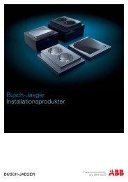 Katalog ABB-Busch Jaeger