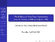 The Politics of Free-Trade Agreements - (Gene M ... - Ecares