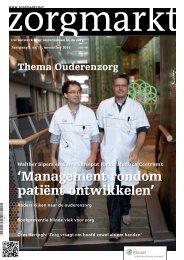 'Management rondom patiënt ontwikkelen' - Leyden Academy
