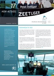 MDK-Actueel 17 - maart 2011 ( PDF 768Kb) - Agentschap Maritieme ...