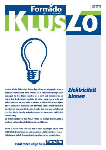 Elektriciteit binnen