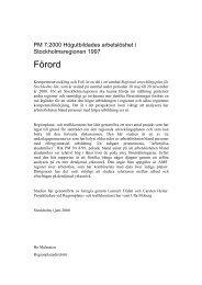 Förord - SLL Tillväxt, miljö och regionplanering (TMR)