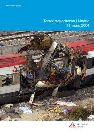 Räddningsverkets rapport - Lev nu! Resor & Foton