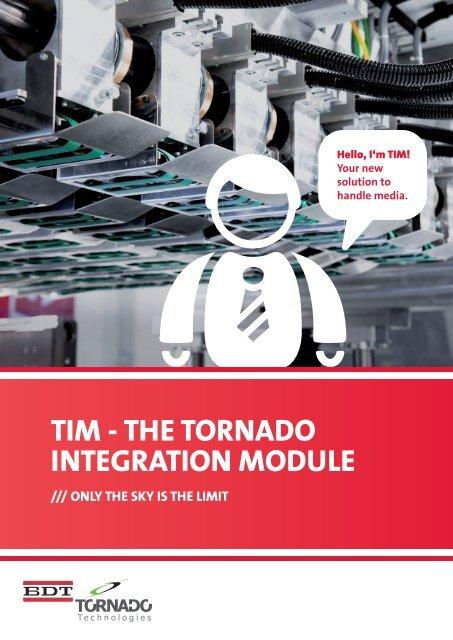 TIM - THE TORNADO INTEGRATION MODULE - BDT