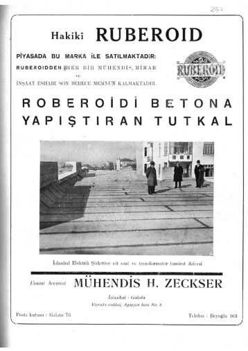Hakikî RUBEROIDROBERO İ D İ BETONA YAPIŞTIRAN TUTKAL ...