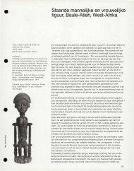 Staande mannelijke en vrouwelijke figuur, Baule-Atieh, West-Afrika
