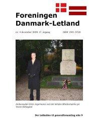 Blad nr. 4 - 2009 - Foreningen Danmark - Letland