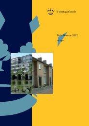 Bijlagen bij Nota Wonen 2012 - s-Hertogenbosch