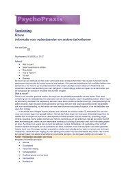 Voorlichting rouw - Psychologen praktijk Bosveld.