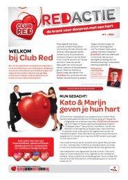 bij Club Red - Bloed Geven Doet leven