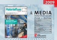 Informationen Print + Online - materialfluss.de