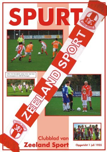 Spurt – April 2012 - Jaargang 57 - Nr. 4 - Zeeland Sport