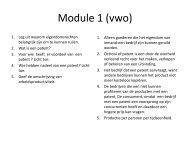 kaarten module 1
