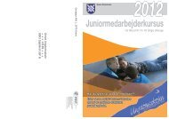 Juniormedarbejderkursus - Greve Ungdomsskole - Greve Kommune