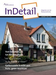 InDetail - Nationaal Restauratiefonds